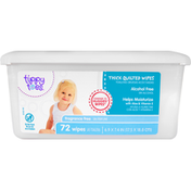Tippy Toes Wipes, Thick Quilted, Fragrance Free