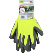 Midwest Gloves, Non-Slip, Large, 2 Pair Pack
