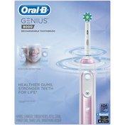 Oral-B 8000 Electronic Toothbrush, Sakura Pink, Powered by Braun