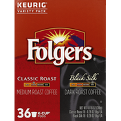 Folgers Coffee, Variety Pack, K-Cup Pods