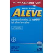 Aleve Pain Reliever/Fever Reducer, Caplets