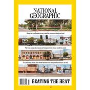 National Geographic Magazine, Beating The Heat, 07.2021