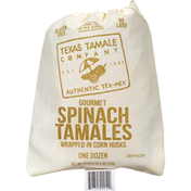 Texas Tamale Company Tamales, Gourmet, Spinach