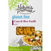 Nature's Promise Pasta, Gluten Free, Corn & Rice Fusilli