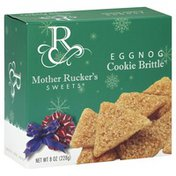 Mother Ruckers Sweets Cookie Brittle, Egg Nog