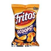 Frito Lays Fritos Scoops Corn Chips