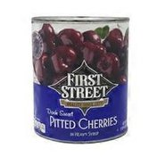 First Street Dark Sweet Pitted Cherries