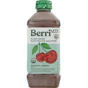 Berri Lyte Electrolyte Solution, Organic, Cherry Flavor, Plant-Based