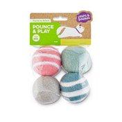 Petco Lpnb Plyfl Wool Ball Cat Toy