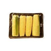 Tray of White Corn