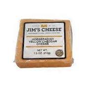 Jim's Yellow Flat Horse Radish Cheese