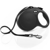 Flexi 26' Black Large New Classic Retractable Dog Leash Tape