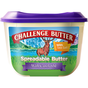 Challenge Spreadable Butter with Sea Salt, with Canola Oil