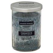 Candle Lite Candle, Oakmoss & Bergamot