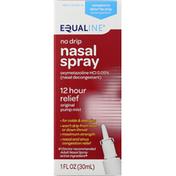 Equaline Nasal Spray, No Drip, Maximum Strength, Original Pump Mist