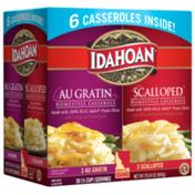 Idahoan Au Gratin & Scalloped Homestyle Casserole Combo Pack