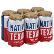 Independence Brewing Beer, Pilsner, Ale, Native Texan