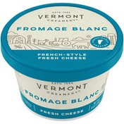 Vermont Creamery Fromage Blanc French-Style Fresh Cheese