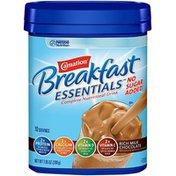 Carnation Breakfast Essentials No Sugar Added Rich Milk Chocolate Complete Nutritional Drink