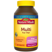 Nature Made Multivitamin For Her Tablets