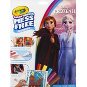 Crayola Coloring Book, Mess Free, Disney Frozen II