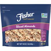 Fisher Almonds, Sliced