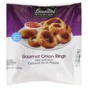 Essential Everyday Onion Rings, Gourmet, Sea Salt and Cracked Black Pepper