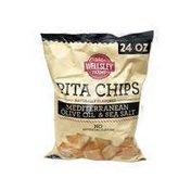Wellsley Farms Mediterranean Olive Oil & Sea Salt Flavored Pita Chips