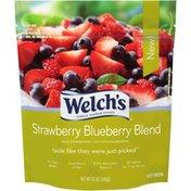 Welch's Strawberry Blueberry Blend Frozen Fruit