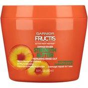 Garnier Fructis For Distressed, Damaged Hair Garnier Fructis Damage Eraser Strength Butter Repairing Rinse-Out