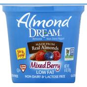 Almond DREAM Yogurt, Almond Non-Dairy, Low Fat, Mixed Berry