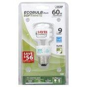 Feit Electric Light Bulb, Soft White, 13 Watts
