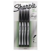 Sharpie Pens, Fine Point, Black