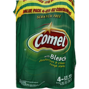 Comet Cleaner, with Bleach, Value Pack