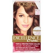 L'Oreal 6CB Light Chestnut Brown Hair Color