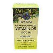 Natural Factors Vegan Vitamin D3 1000 IU