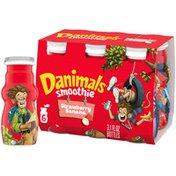 Danimals Swingin' Strawberry Banana Smoothies
