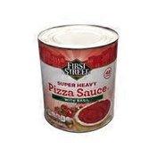 First Street Super Heavy Pizza Sauce With Basil