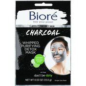 Bioré Charcoal Whipped Purifying Detox Mask
