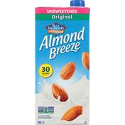 Almond Breeze Fortified Almond Beverage, Original, Unsweetened