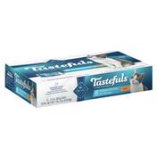 Blue Buffalo Tastefuls Natural Kitten Pate Wet Cat Food Multi-pack, Chicken Entrées (Pack of 6)