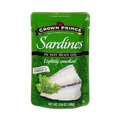 Crown Prince Sardines in Soy Bean Oil Lightly Smoked