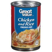 Great Value Chicken and Rice Condensed Soup