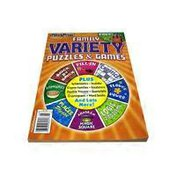 PennyPress Volume 299 Family Variety Puzzles & Games Plus Crosswords