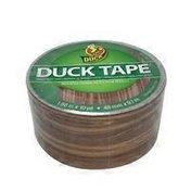 "Duck 1.88"" X 10"" Yard Brown Wood Grain Printed Duct Tape"