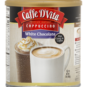 Caffe D'Vita Cappuccino, White Chocolate, Premium Instant