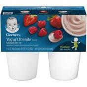 Gerber Yogurt Blends Snack Mixed Berry Yogurt