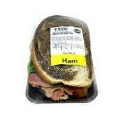 Ham & Swiss on Rye
