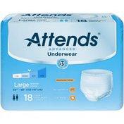 Attends APP0730 Large Advanced Underwear