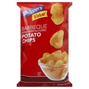 Shoppers Value Potato Chips, Barbeque